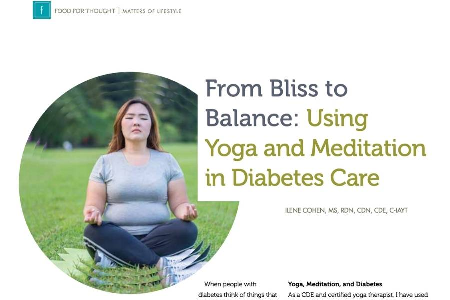 PranaSpirit Bliss to Balance Article in AADE