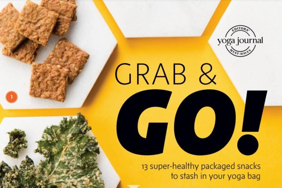 PranaSpirit Grab & Go 13 super-healthy packaged snacks to stash in your yoga bag